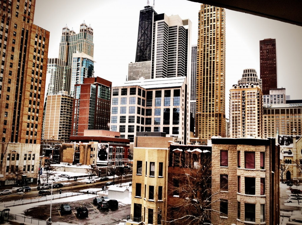 View from my Balcony when I lived in Chitown