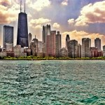 """Chicago Skyline from """"the playpen"""""""